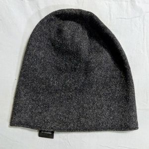 Gray Wool Winter Hat